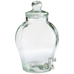 have a serious obsession with glass drink dispensers! <3.