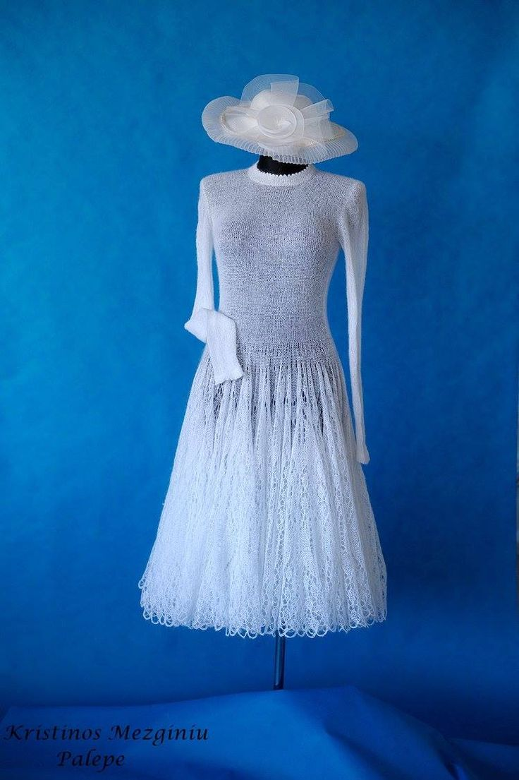 Mohair Dress Knitting Pattern : hand knit mohair lace dress. Unique dress for any season. #stunning #unique #...