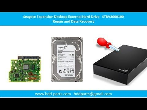 Seagate Expansion clicking no detect repair data recovery