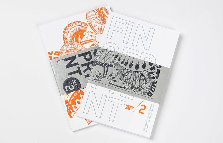Fingerprint No. 2 Postcard Set // set of 8 letterpressed postcards // $12 // http://www.chendesign.com/shop/fingerprint-no-2-postcard-set/
