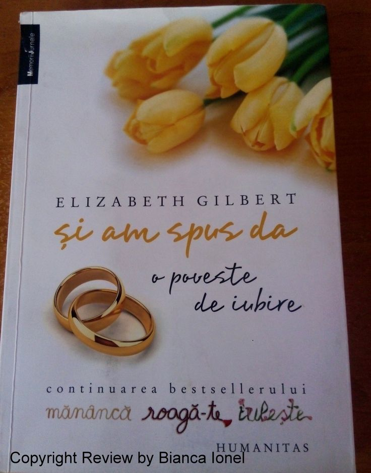 O continuare a filmului Eat, pray, love și a cărții cu același nume. O lecție despre iubire și despre motivele care țin un cuplu împreună, căsătorit sau nu
