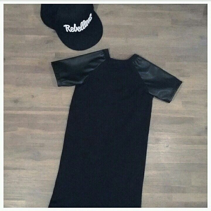 Leather dress  #madebyme  #www.facebook.nl/bynoof