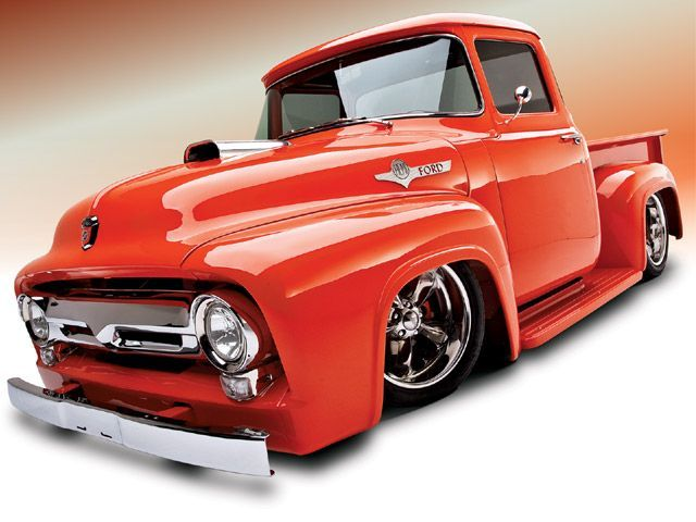 1956 Ford F100....my husband would love this truck