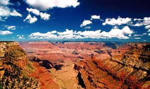 Groupon - $ 94 for a Full-Day Bus Tour of the Grand Canyon's South Rim from…