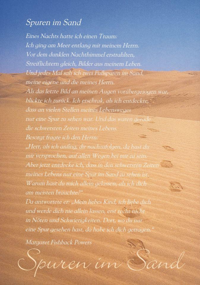 Spuren im Sand ✨