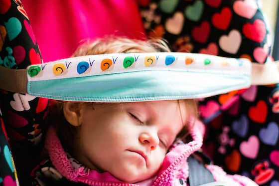 Comfy & Safe Car Seat Sleep with Slumber Sling » Daily Mom