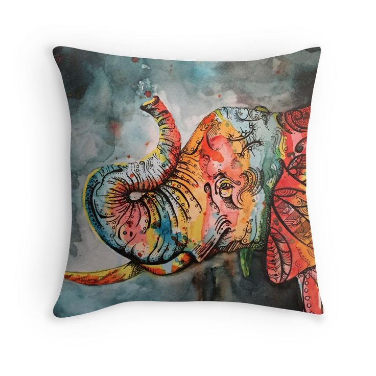 Best 25+ Elephant throw pillow ideas on Pinterest Elephant decorations, Elephant stuff and ...