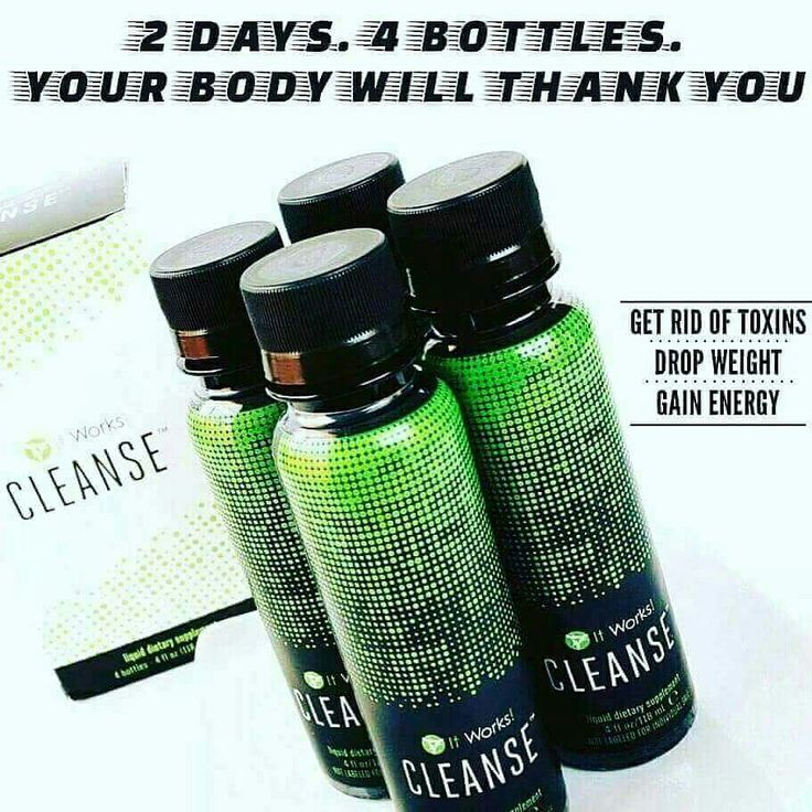 It works body cleanse detox message me for info! Www.heatherblock.myitworks.com