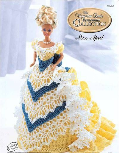 Image detail for -International Crochet Patterns, crocheted Barbie doll dresses