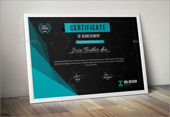 Certificate Of Achievement Templates Free 7 Best Appraciation Images On Pinterest  Certificate Of Recognition .