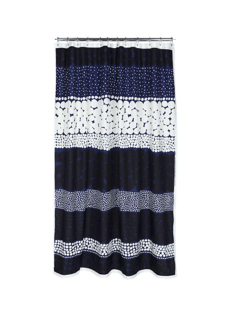 Jurmo shower curtain by Marimekko