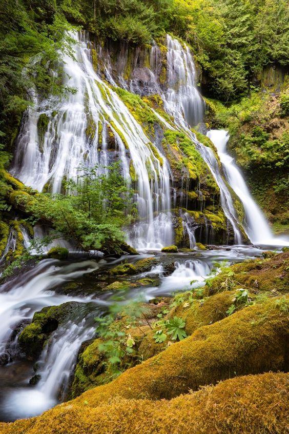 Panther Creek Falls, Georgia, USA
