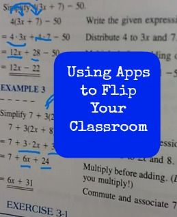 Apps for Flipping your Classroom.  The spelling of the Doceri app is spelled wrong in the blog, but it does have some good information!