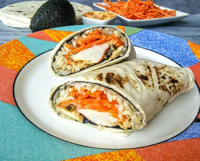 Mom Knows Best : Southwestern Style Sushi Burrito & A Giveaway