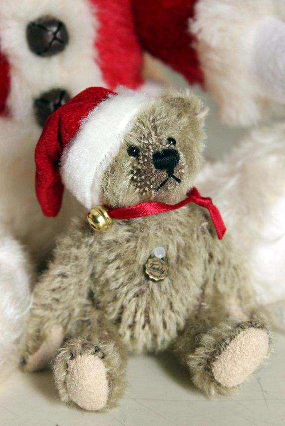 Christmas Teddy Bears for sale in museum shop!