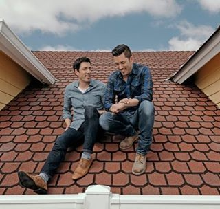 """Drew Scott on Instagram: """"If you haven't read our @nytimes feature yet, what are ya waiting for! It makes for a good bedtime read 😉 link in bio."""" (Link: https://www.nytimes.com/2017/05/10/fashion/the-property-brothers.html?_r=2)"""