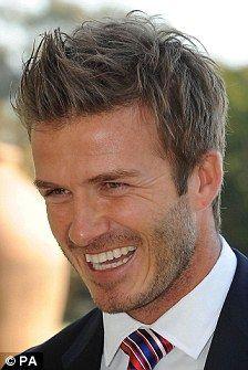 Best David Beckham Hairstyles Images On Pinterest Cute Guys - David beckham armani hairstyle