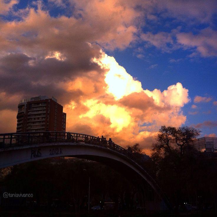 Puente de Los Candados #Providencia #Stgo de #Chile
