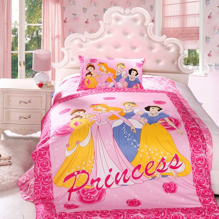Disney Princess Bedding Set Twin Size, Disney Bed Sheets Queen Size