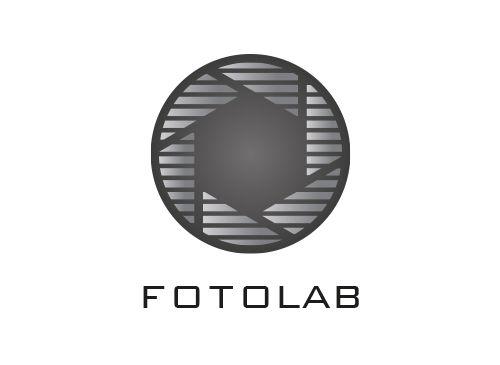 Logo, Blende, Fotograf, Photostudio, Grafikpart