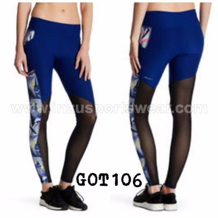 GOT106 Gottex Power Mesh Legging