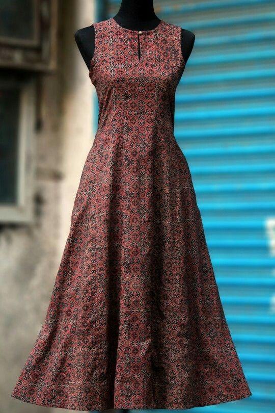 #summer #autumn #dress #ajrak #indianhandicraft