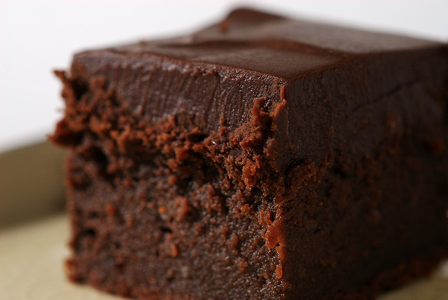 Chocolate Mascarpone Brownies by bakeorbreak, via Flickr