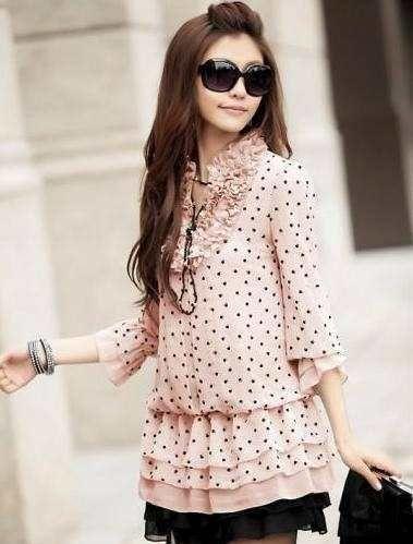 Blusas Vestidos Moda Japonesa Asiatica