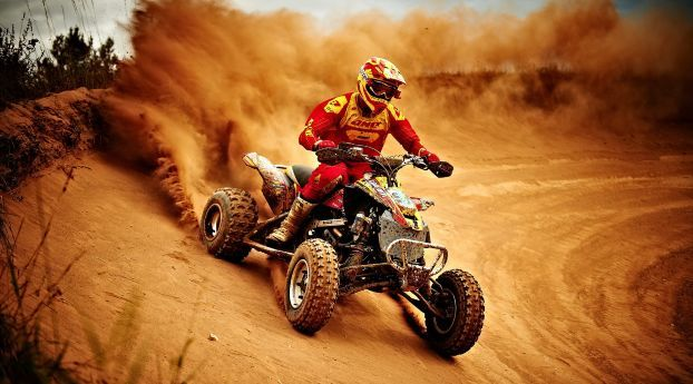 Race Motorcycle Sports Wallpaper Hd Sports 4k Wallpapers Images Photos And Background Atv Motocross Quad Bike Quad