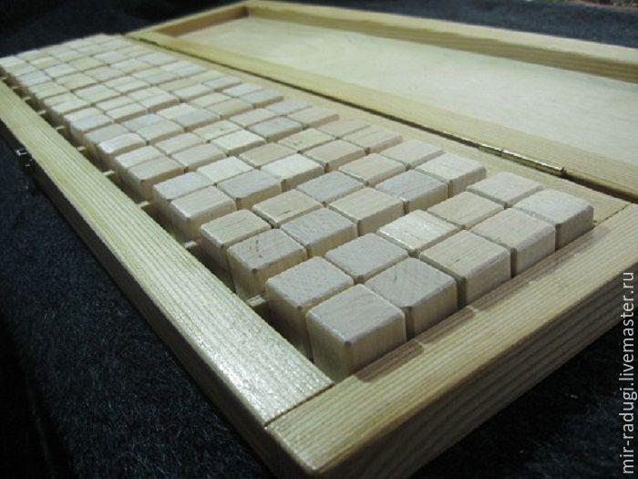Купить Кубики для обучения счету по системе С Полякова - белый, учебное пособие, кубики деревянные