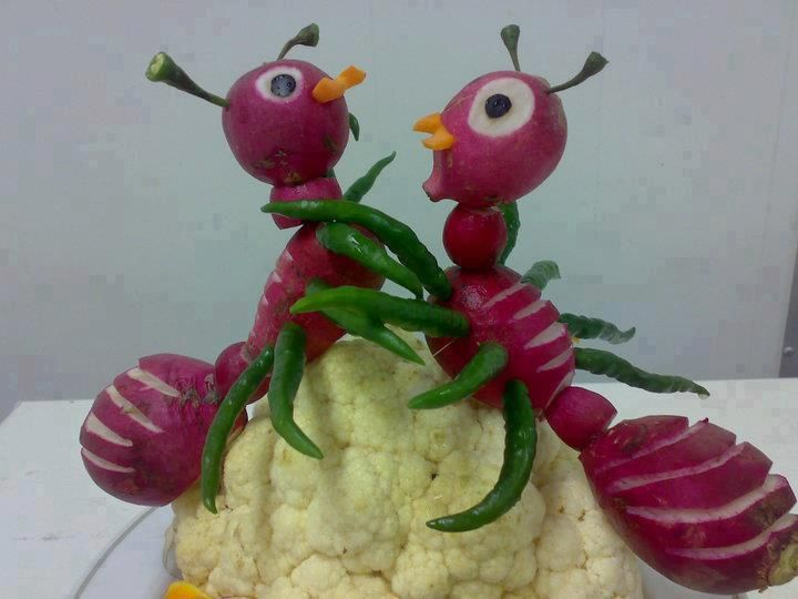 Best vegetable animals ideas on pinterest fruit
