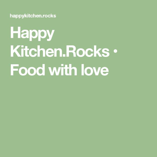 Happy Kitchen.Rocks • Food with love