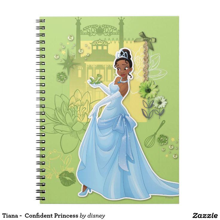Tiana -  Confident Princess. Regalos, Gifts. #notebook #cuaderno