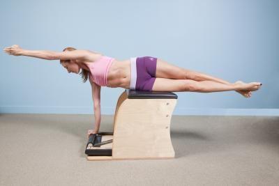 Pilates: Snake Twist on the Gratz Wunda Chair~