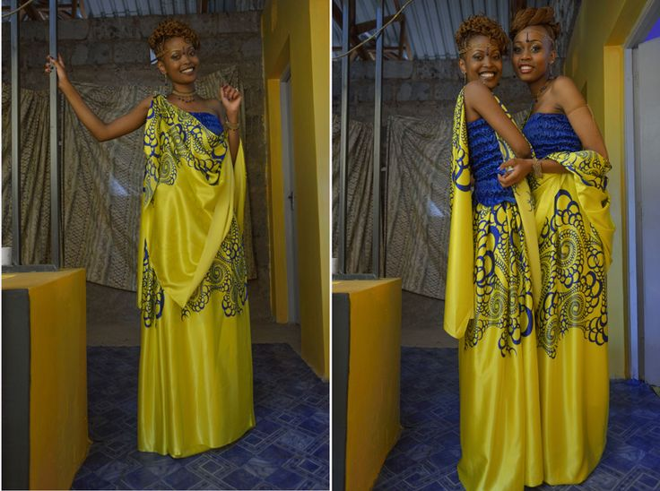 Rwandan traditional dress, the Mushanana
