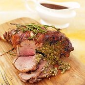 stuffed leg of lamb with rosemary