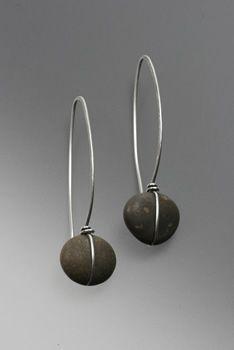 Beautiful minimalist earrings