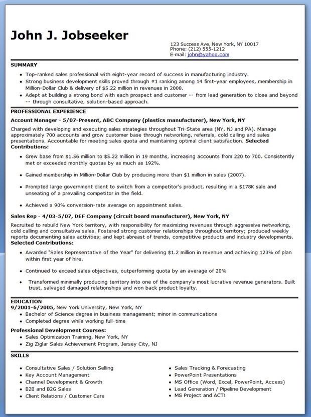 17 best Business Resume Samples images on Pinterest Business - business intelligence resume