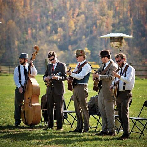 Bluegrass Band Honest Down Home Wedding Music BluegrassBand WeddingMusic
