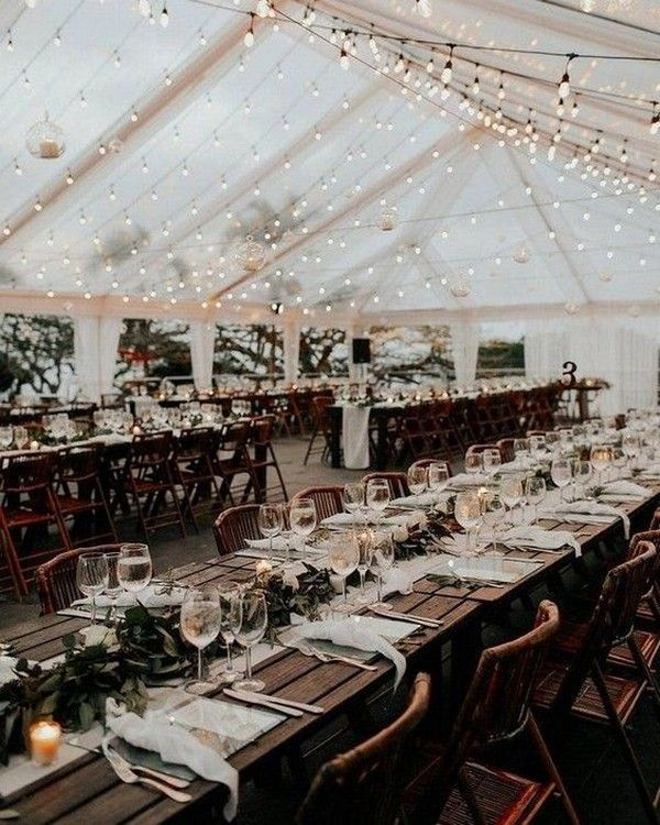 20 Country Rustic Wedding Reception Ideas For Your Big Day Emmalovesweddings Wedding Reception Lighting Country Wedding Reception Barn Wedding Reception