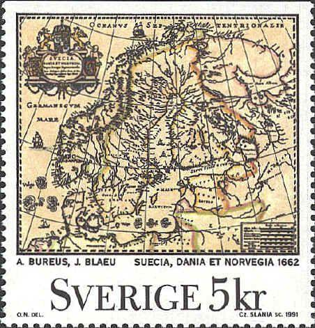 Sverige stamp