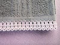 Crocheted thread edging can add a beautiful heirloom-quality to so many articles in a hope chest. This simple crocheted edging is t...