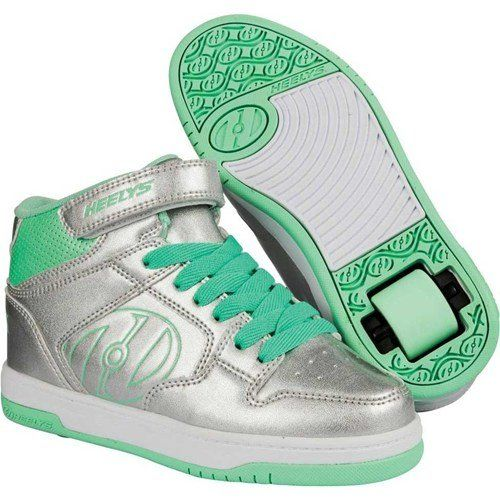 HEELYS FLY 2.0 Schuh 2015 silver/mint, 32 - http://on-line-kaufen.de/heelys/silver-mint-heelys-rollschuhe-fly-2-0