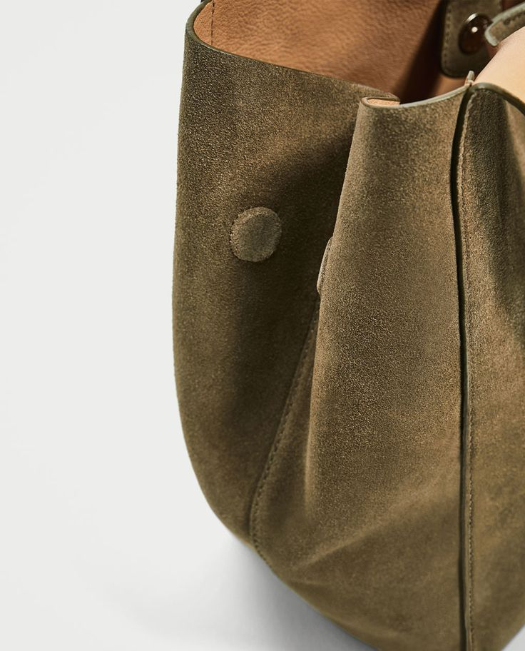 LEATHER BUCKET BAG-Large Bags-BAGS-WOMAN | ZARA United Kingdom