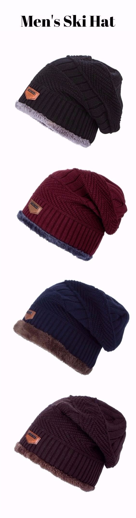 Outdoor Label Knit Ski Hat