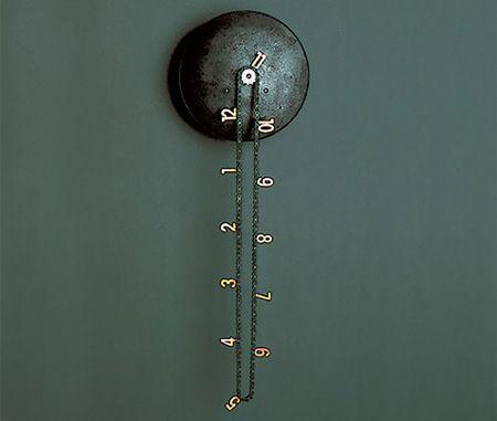Sweet clockTime, Cool Clocks, Stuff, Chains, Catena Wall, Price Tags, Wall Clocks, Tick Tock, Design