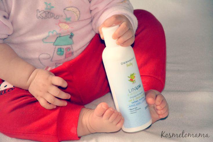 Emolient do kąpieli dla dzieci ze skórą wymagającą suchą i z AZS.