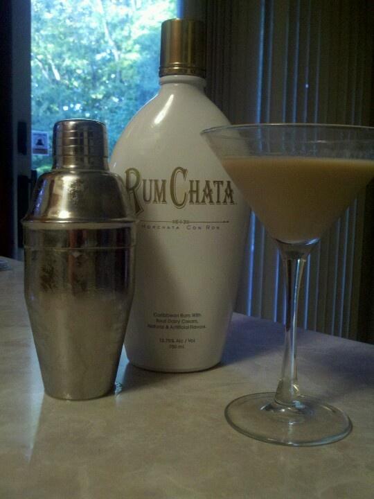 Russian Chata Tini - 1 part Tito's Vodka, 1 part Kahlua & 2 parts Rum Chata = DELICIOUSNESS