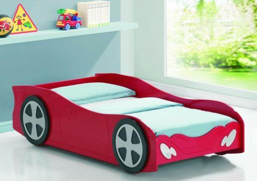 Kinderzimmer gestalten - 20 Kinderbetten für Jungs, wie Autos geformt