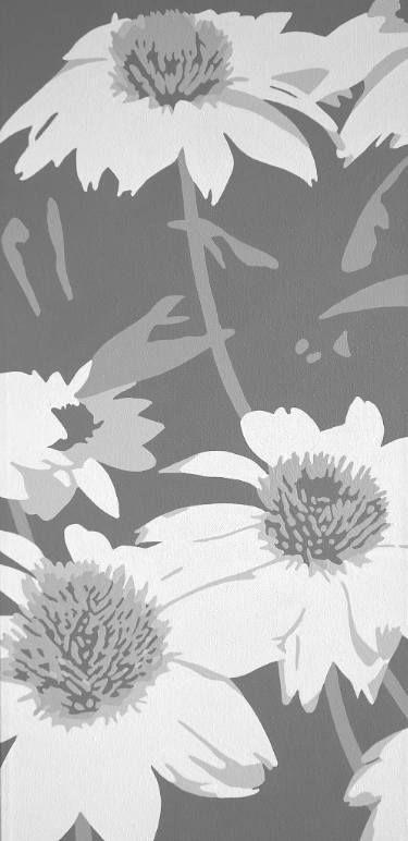 "Saatchi Art Artist Susan Porter; Painting, ""Avalanche Coneflowers"" #art"